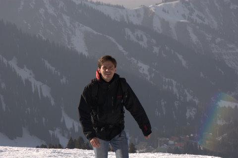 Таки добрался до гор. Егор Тюрин